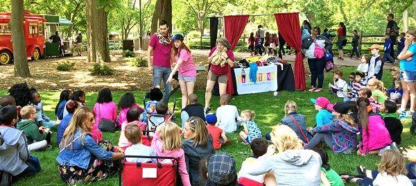 actividades divertidas teatro campo