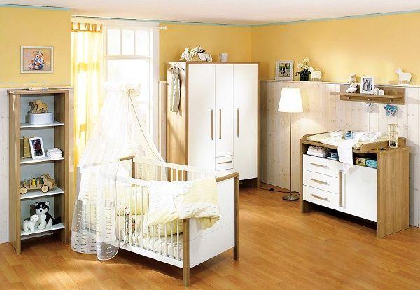 dormitorio bebe amarillo