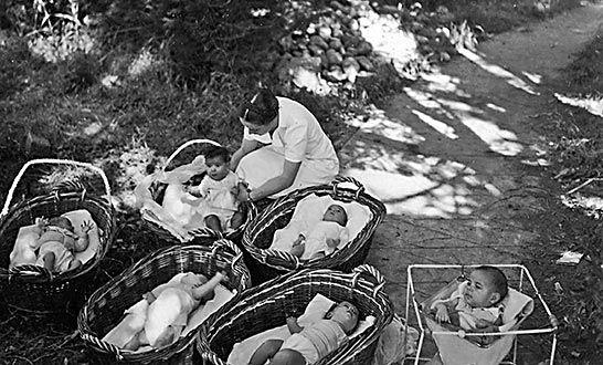 la maternidad de Elna salvo a muchos niños y madres