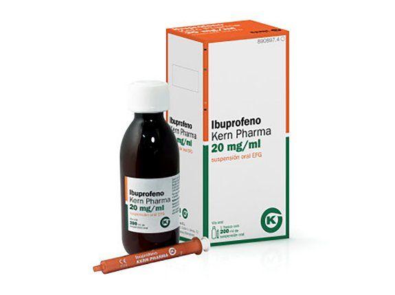 ha sido retirada una remesa de ibuprofeno infantil