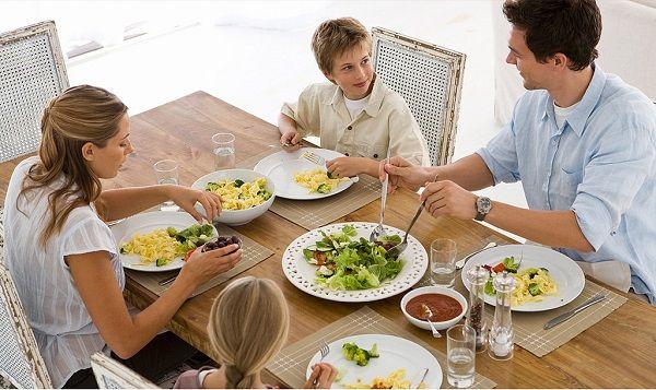 dieta equilibrada familia
