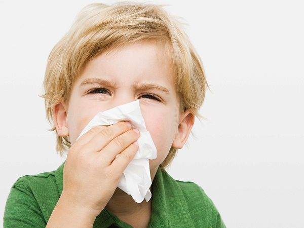 nene resfriado