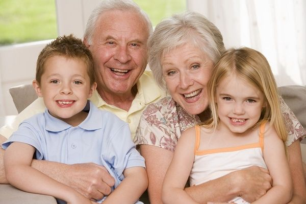 abuelos nietos