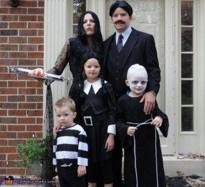 Disfraz infantil Halloween Miércoles Addams