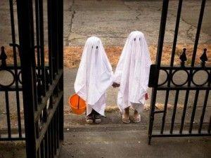 Disfraz infantil Halloween fantasma