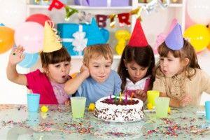 Juguetes en los cumpleaños