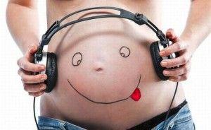 Música durante embarazo