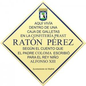 Placa casa Ratoncito Pérez