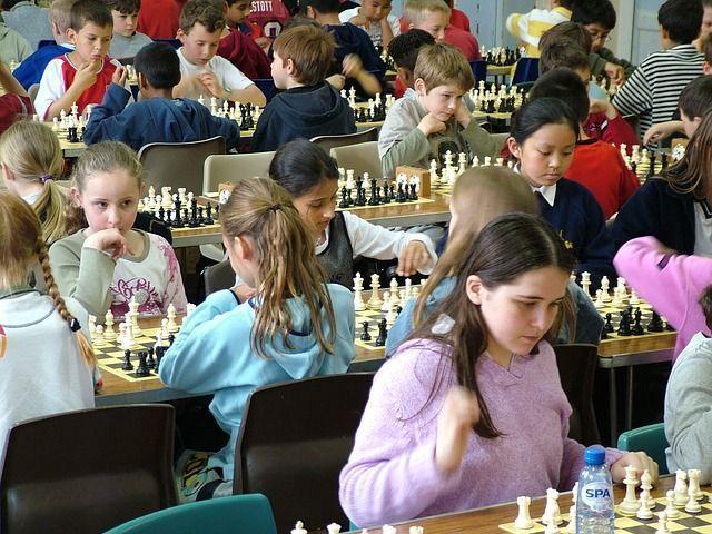 ajedrez durante la infancia