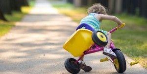 Cómo actuar ante caídas infantiles