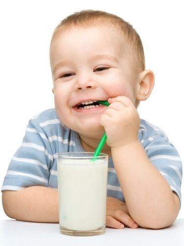 leche y niños
