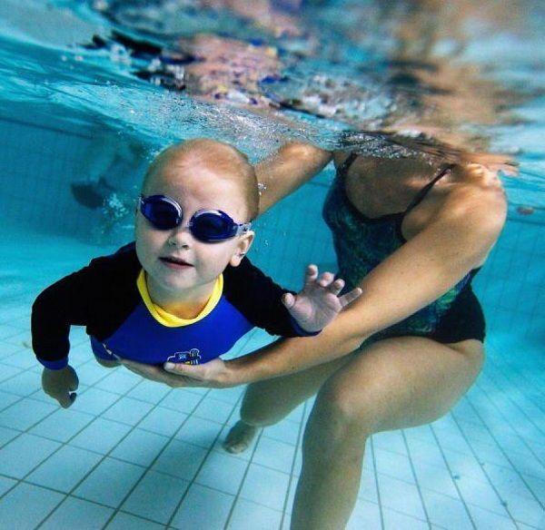natación bebés